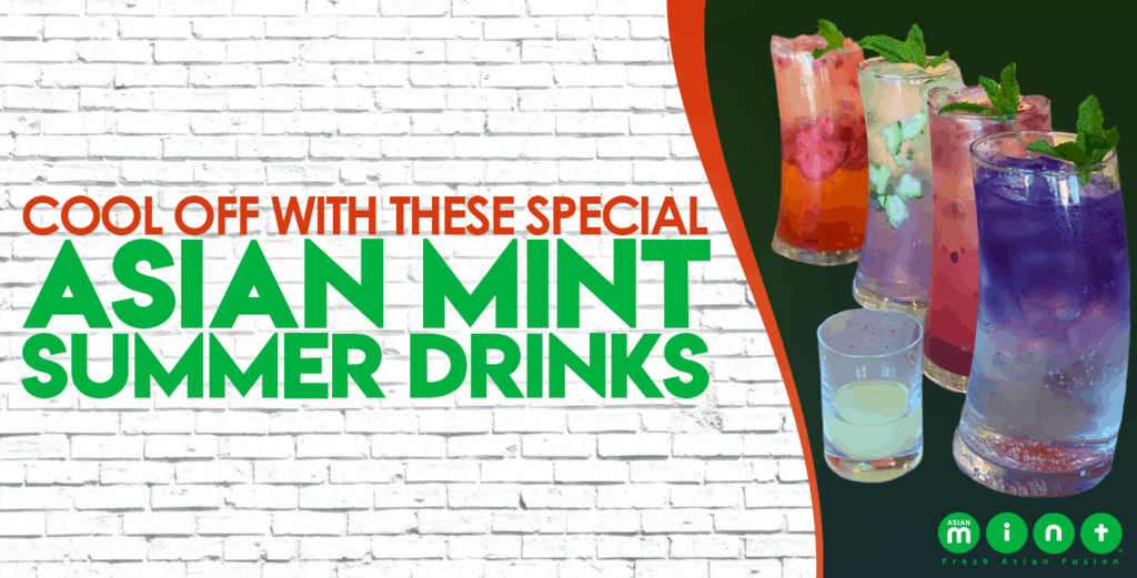 Asian Mint Summer Drinks