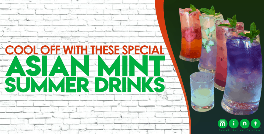 Cool Off with These Special Asian Mint Summer Drinks