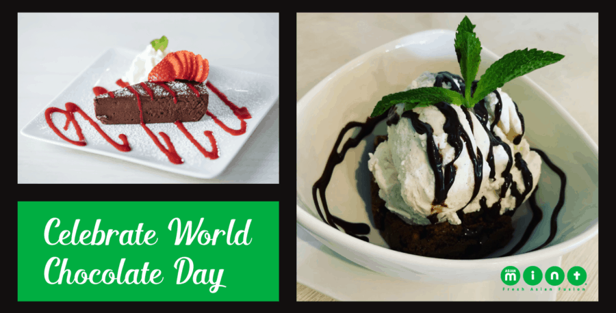 Enjoy a Chocolate Treat at Asian Mint on World Chocolate Day