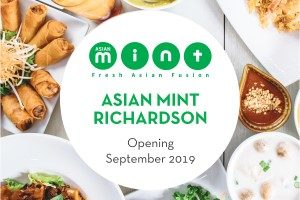 Asian Mint Richardson Opening Sept 2019 - 300 x 200 pixels