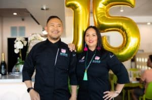 Tan and Nikky Celebrating 15 years at Asian Mint