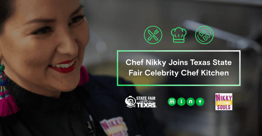 Chef Nikky Joins Texas State Fair Celebrity Chef Kitchen