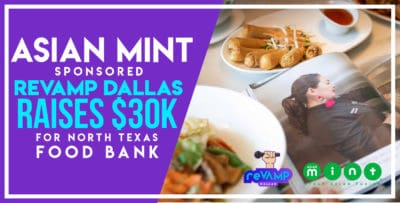 Asian Mint-Sponsored RevAMP Dallas Raises $30K for North Texas Food Bank