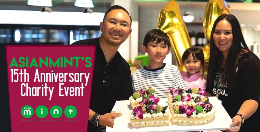 Asian Mint's 15th Anniversary Charity Event