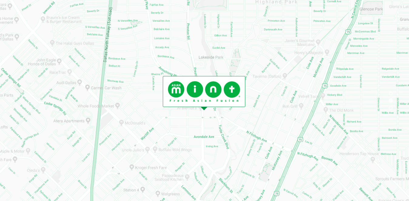 Map of The Mint