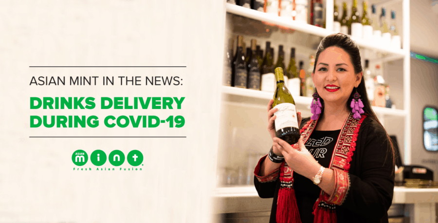 Asian Mint in the News: Drinks Delivery during Covid-19