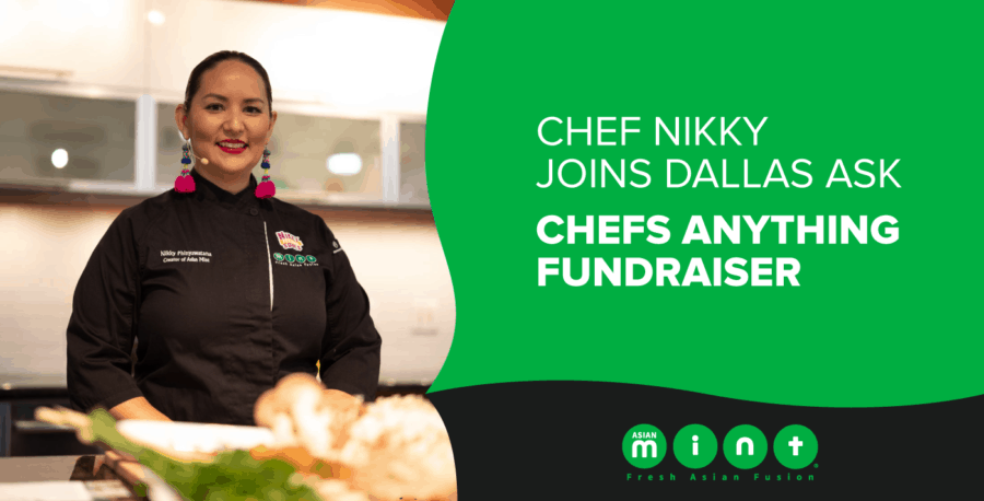 Chef Nikky Joins Dallas Ask Chefs Anything Fundraiser
