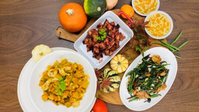 thai inspired thanksgiving menu