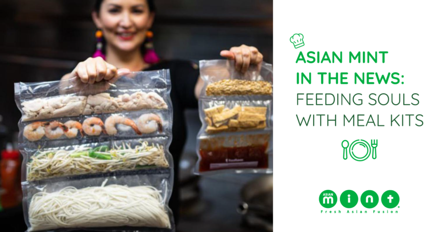 Asian Mint in the News: Feeding Souls with ChefMint Kits