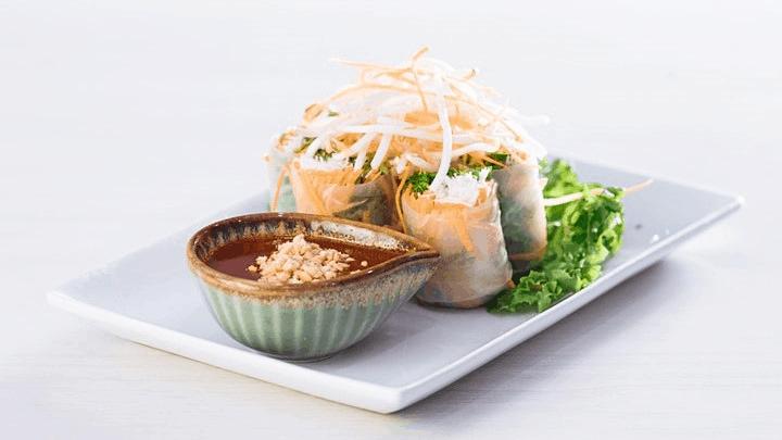 experience thailand, summer rolls
