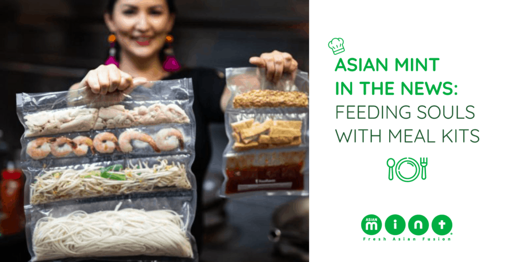 asian mint in the news, meal kits