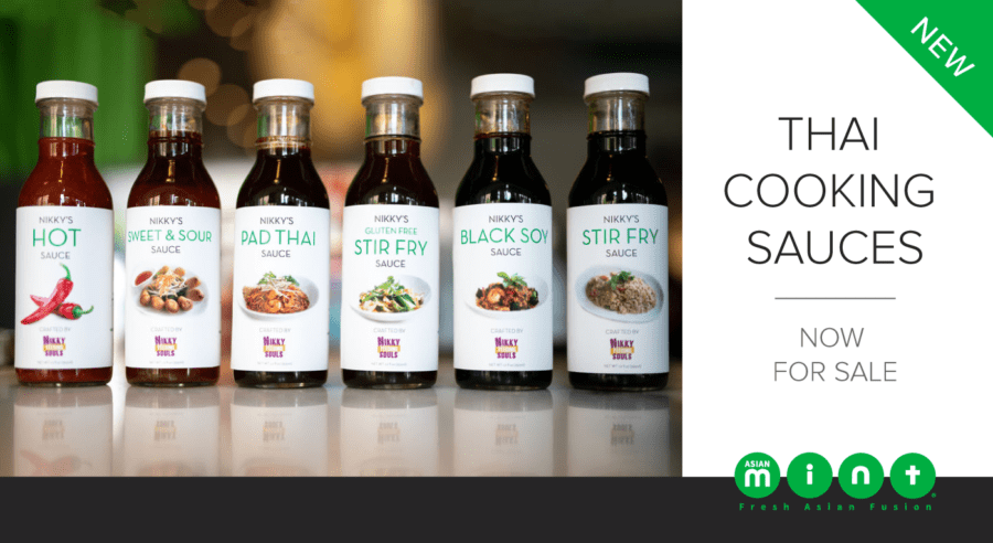 Dallas Morning News Features Chef Nikky's Sauces Line