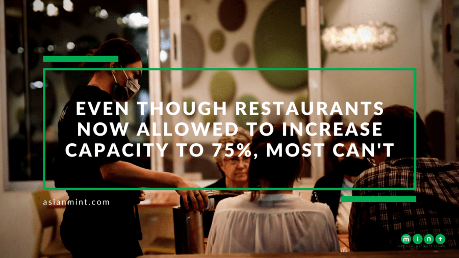 Dallas Restaurants: Running at 75% Capacity Impossible For Most, Yet Gives Hope to All