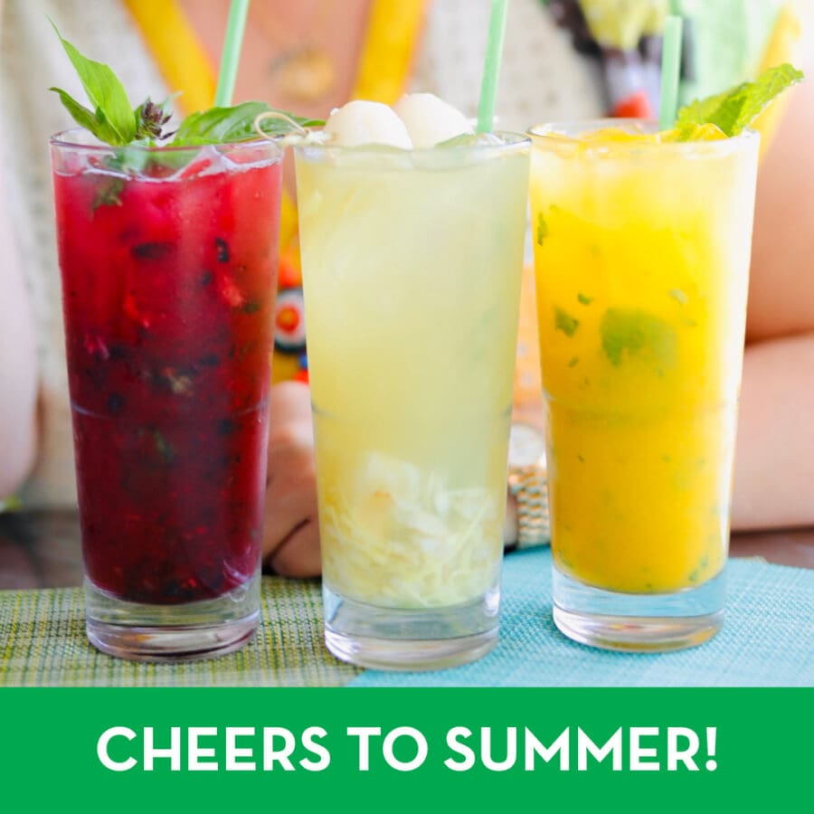 Sip These Refreshing Summer Mocktails with an Asian Mint Twist