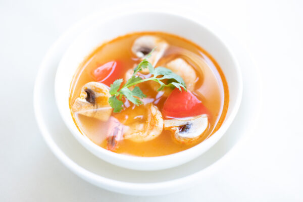 spicy tom yum soup